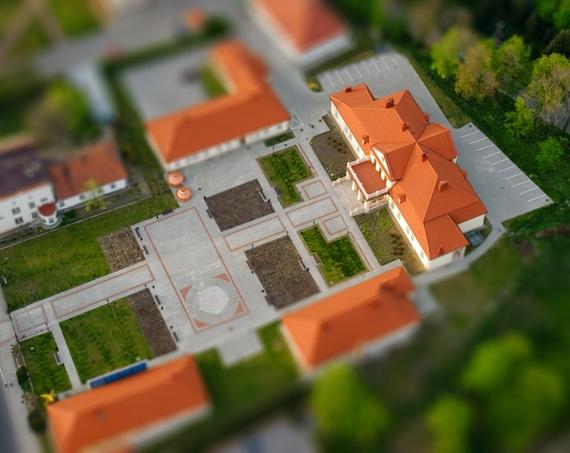 Muzeum w Leżajsku (Tilt-Shift)