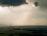 Panorama Satalowej Woli z lotu ptaka