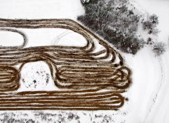 Zimowe prace w polu