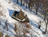 Cerkiew w Uluczu w zimowej scenerii