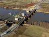 Prace przy nowym moście na Sanie