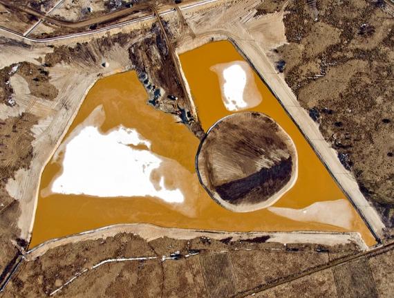 Zbiornik małej retencji Nisko-Podwolina 5 III 2010
