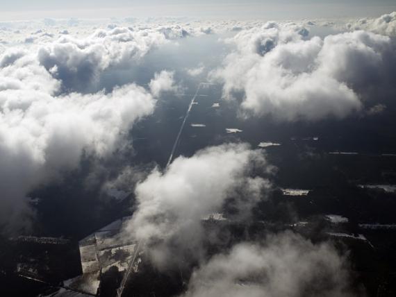 Linia LHS w chmurach