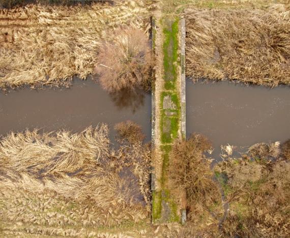 Mostek nad Tanwią - Łąki Wolańskie - miejscowość Rakowiec