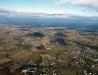 Zarzecze Kłyżów - widok z lotu ptaka - kierunek N