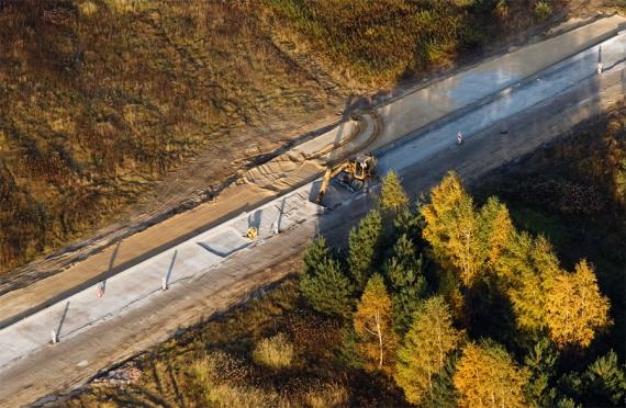 Nisko w budowie - wiadukt LHS w Zarzeczu