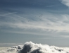 Migracja ptaków do ciepłych krajów - wysoki lot nad chmurami