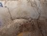 Krajobraz księżycowy - osuszony staw rybny w Lasach Janowskich