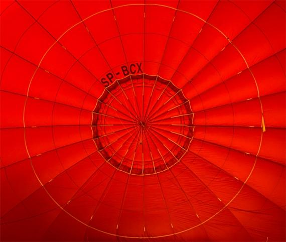 Stalowowolski balon SP-BCX