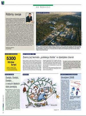 Gazeta Ciech nr 40  grudzień 2010 - zdjęcie zakładów chemicznych