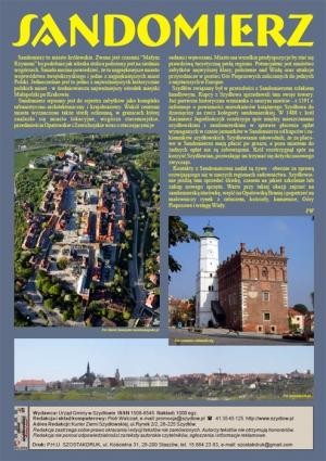 Kurier Ziemi Szydłowskiej nr 1/2010 - Sandomierz z lotu ptaka