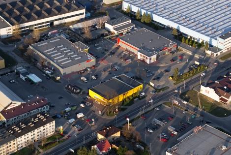 Centrum handlowo-przemysłowe w Nisku