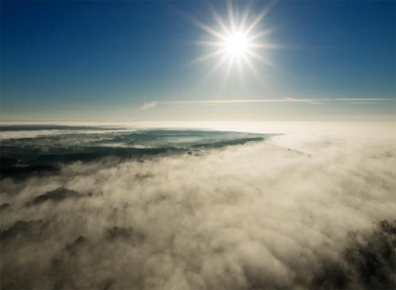 Wrześniowe mgły o świcie