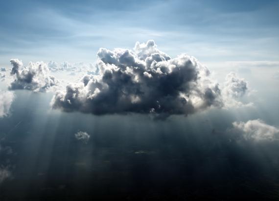Pląsanie między chmurkami