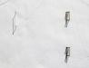 Boisko z lotu ptaka w zimowej scenerii - ortogonalnie